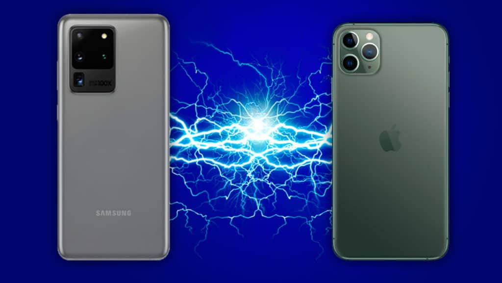samsung s20 ultra vs iPhone11 pro max