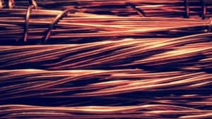 bunch of copper wires