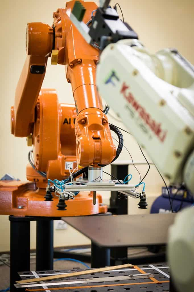IT Solutions for Manufacturing Industry-robotic arm
