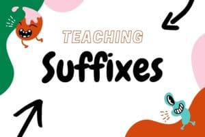 cover for suffixes lesson