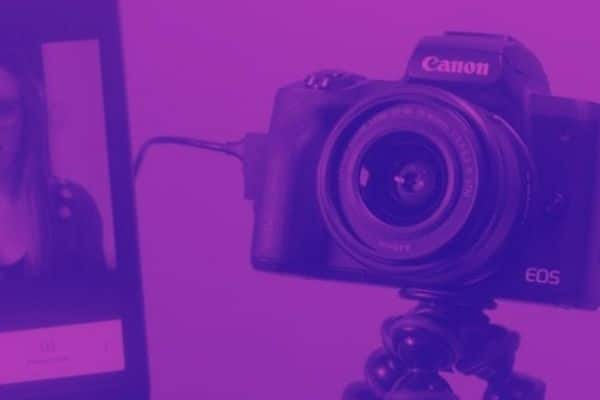 normal camera used as a webcam